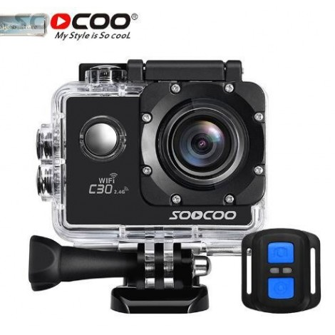 Sports camera 4K SOOCOO C30 Wifi Gyro 30M waterproof