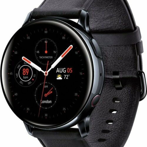 Samsung Galaxy Watch Active 2 (R830 40mm Stainless Steel Case) Black