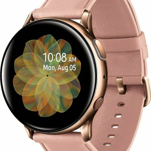 Samsung Galaxy Watch Active 2 (R830 40mm Stainless Steel Case) Gold